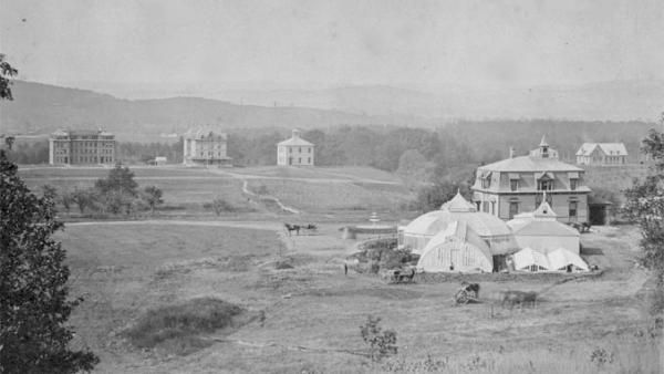 Massachusetts Agricultural College MAC opened in the autumn of 1867 with four faculty, 56 students, and a handful of buildings.