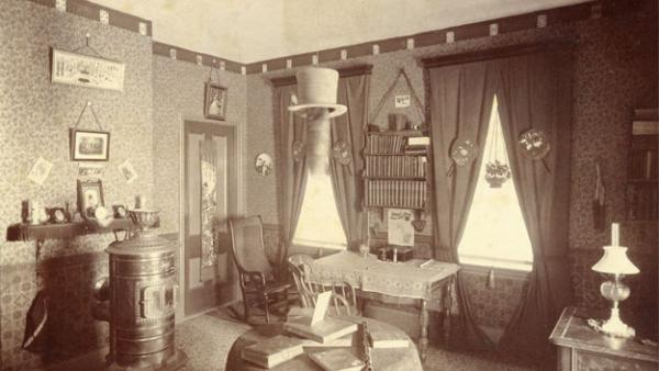 Early South College Dorm Room