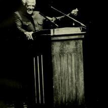 Archbishop Desmond Tutu at UMass in 1992
