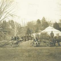 Class of 1909 tree planting