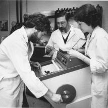 Food science laboratory in 1981