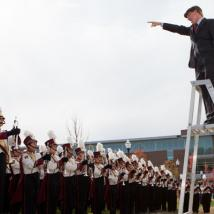 Minuteman Marching Band wins Sudler Trophy in 1998