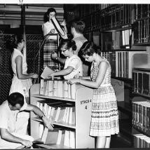 Goodell Library, 1962