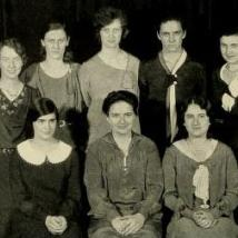 Womens Student Government Association in 1932