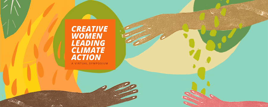 Creative Women Leading Climate Action logo