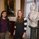 Aradhita Saraf and Kate Preissler