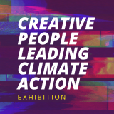Creative People Leading Climate Action Exhibition logo
