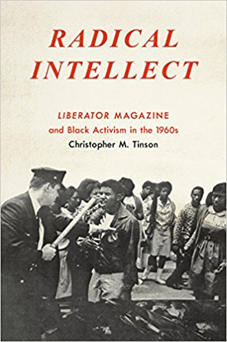 Book cover photo of Chris Tinson's new book Radical Intellect