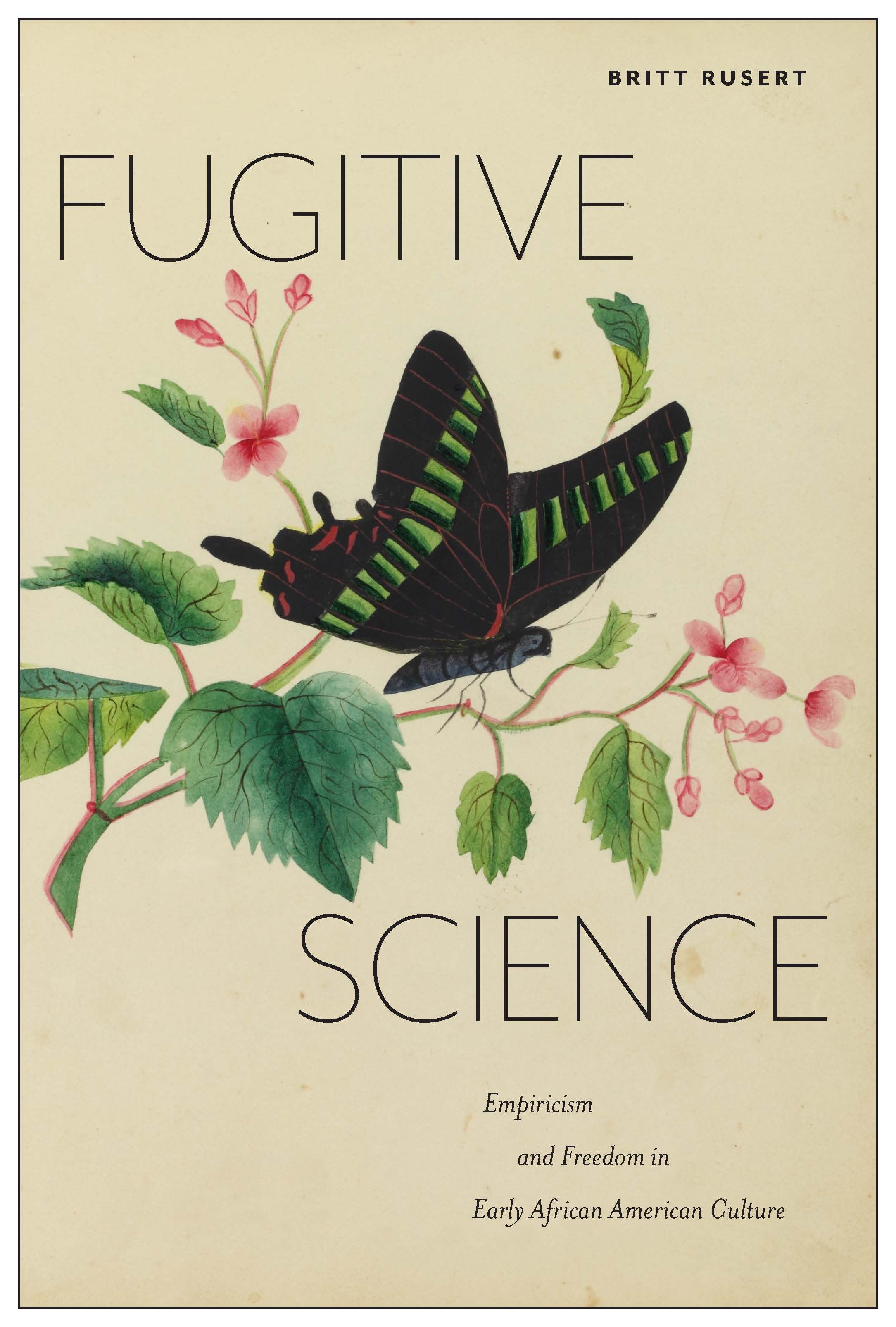 Picture of book cover for Fugitive Science