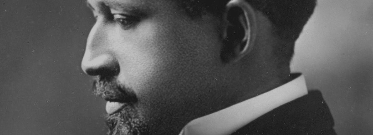 A close up photograph of W. E. B Du Bois