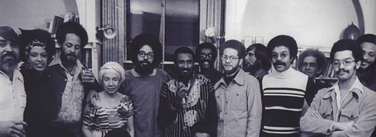 A group picture of faculty back in the 70s