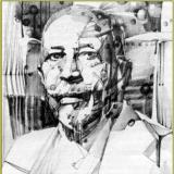 art work by Nelson Stevens of W.E.B. Du Bois