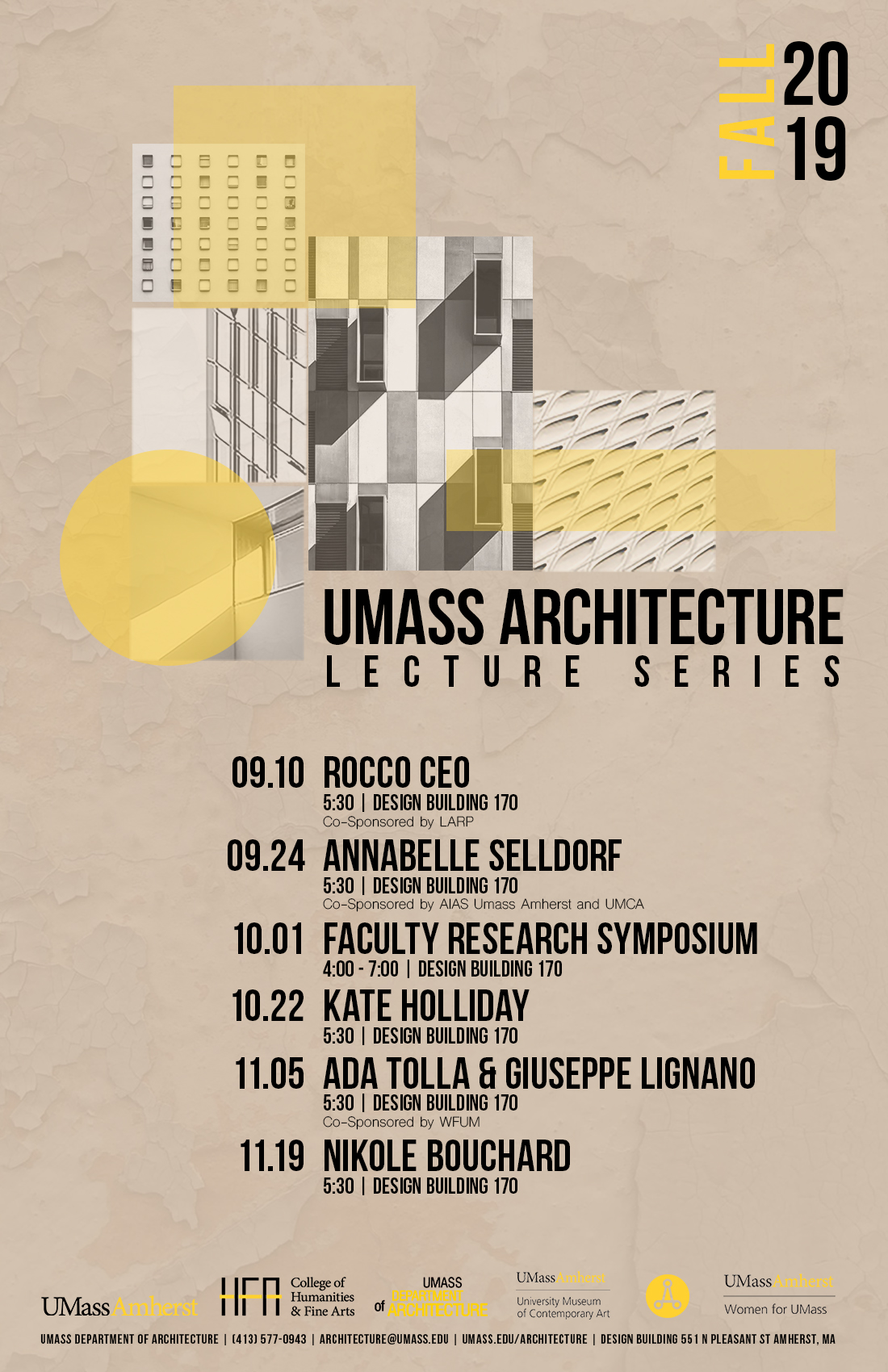 Fall 2019 Lecture Series Poster