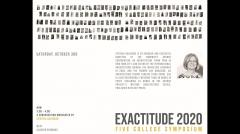 UMass Department of Architecture Exactitude Symposium - Fall 2020 - Round Table