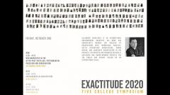 UMass Department of Architecture Exactitude Symposium - Fall 2020 -  Alejandro Zaera-Polo