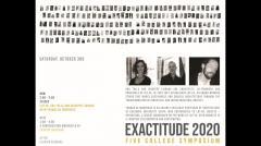 UMass Department of Architecture Exactitude Symposium - Fall 2020 - Lot-Ek