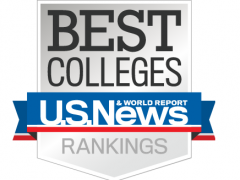 US News & World Report Best Colleges Rankings logo