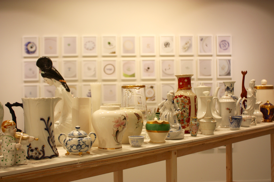 Selections from The Colored Bone China