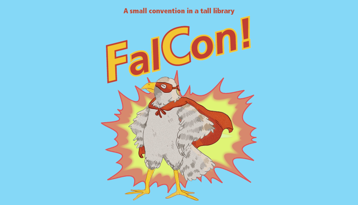 FalCon, a small convention in a tall library