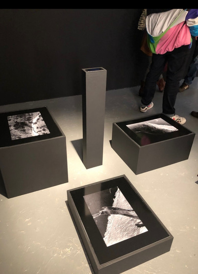 Selections displayed at NYPOP Gallery during the On The Edge show