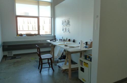 A look inside studio space at UMass Amherst