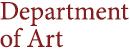 Department of Art