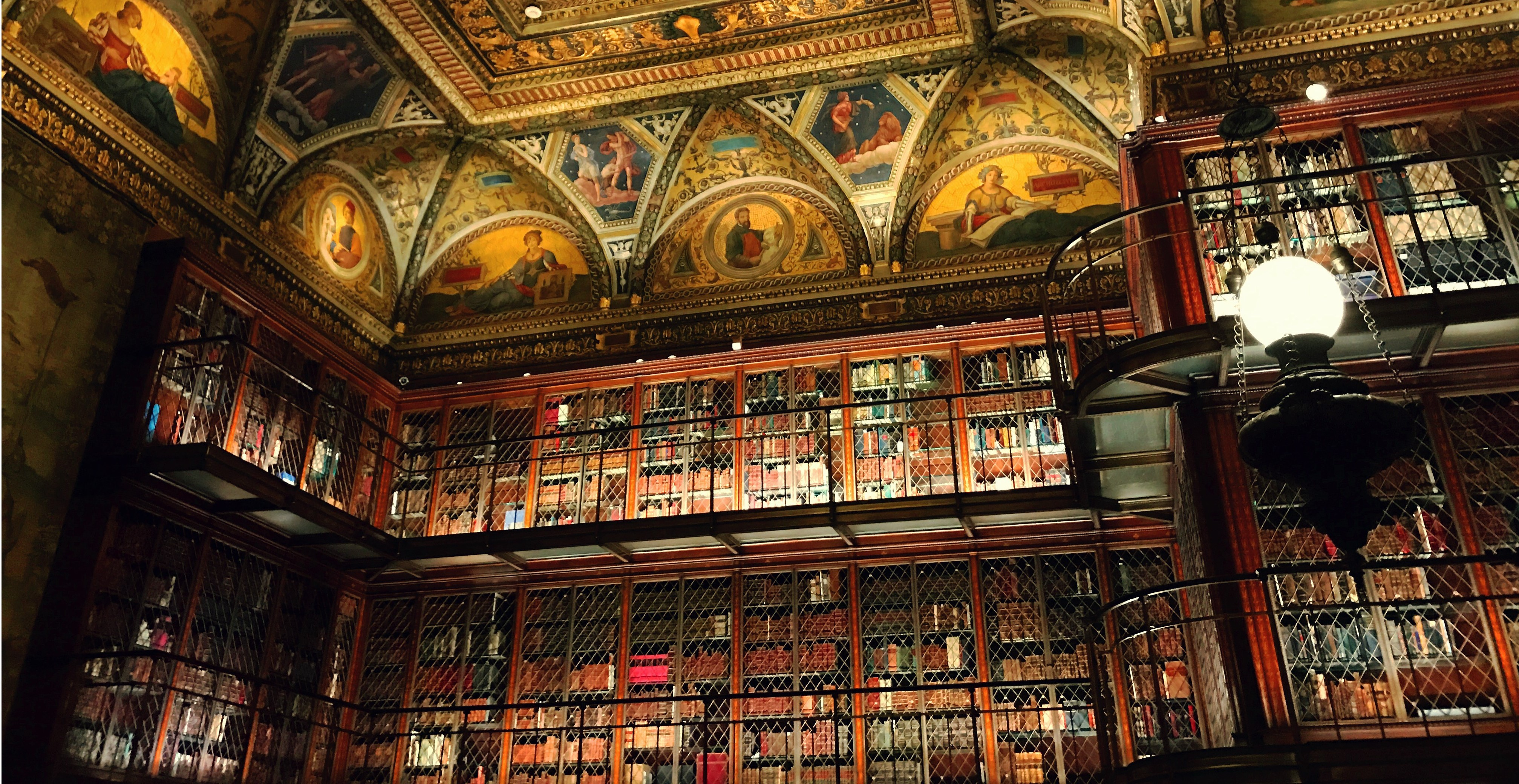 Morgan library ceiling