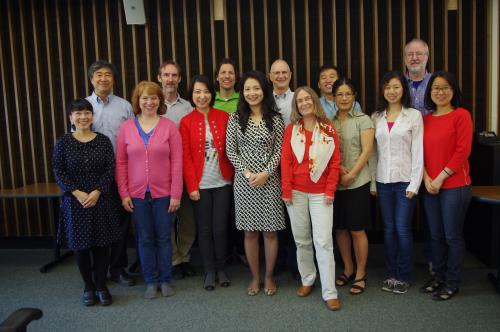 The faculty of the Asian Languages & Literature program.