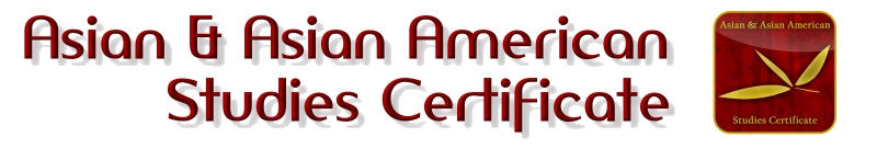 Asian & Asian American Studies Certificate