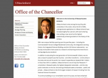 Office of the Chancellor website