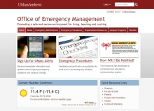 Office of Emergency Management website