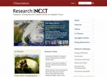 Research Next website