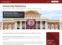University Relations website