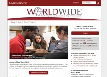 UMass Worldwide website