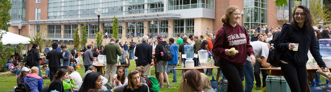 The campus community celebrates Founder's Day.