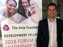 2018 Forum on Leadership for Asia's Future – Nangyalai Attal
