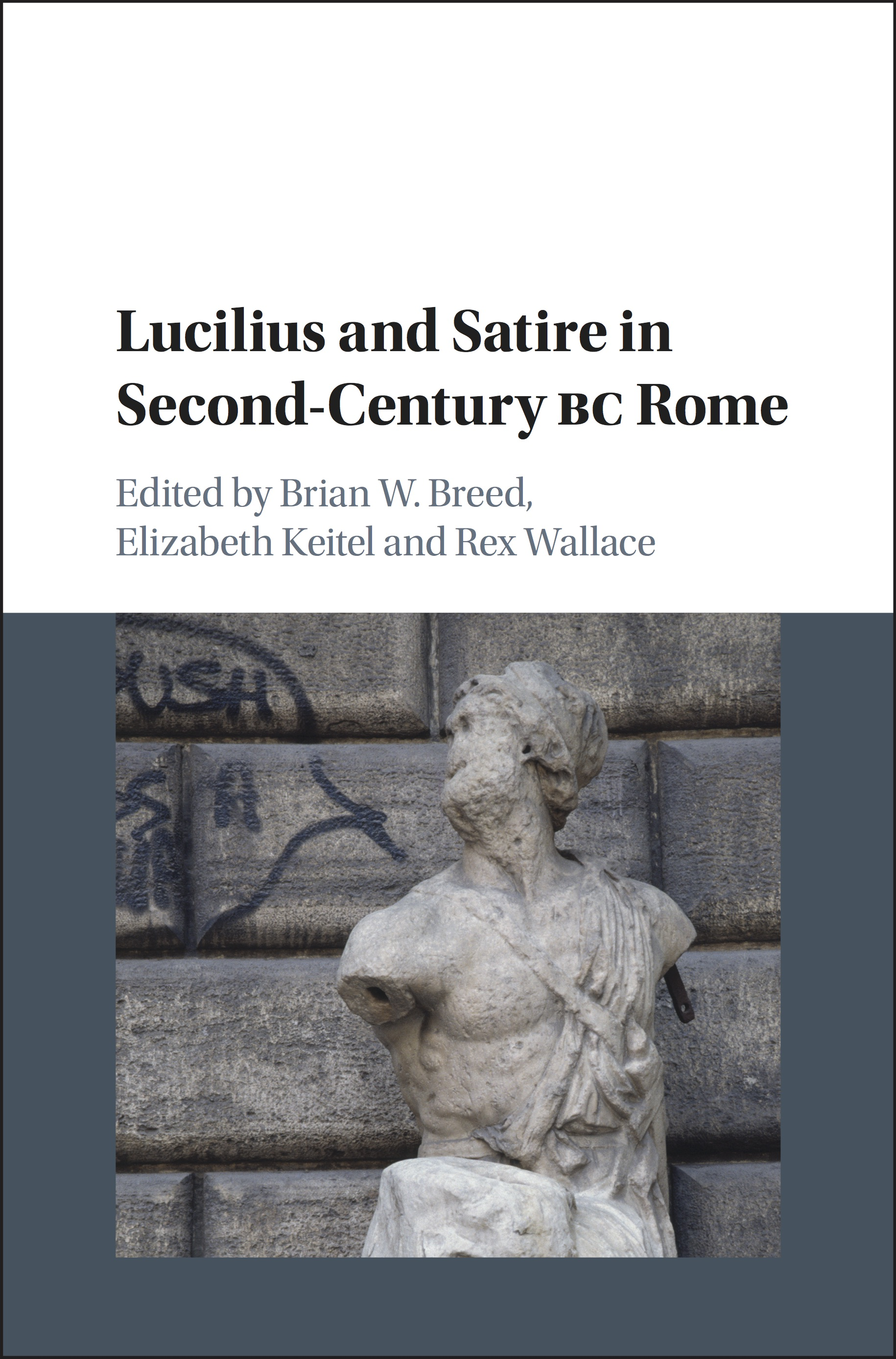 Book cover: Lucilius and Satire in Second-Century BC Rome