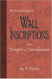 Book Cover: An Introduction to Wall Inscriptions from Pompeii and Herculaneum