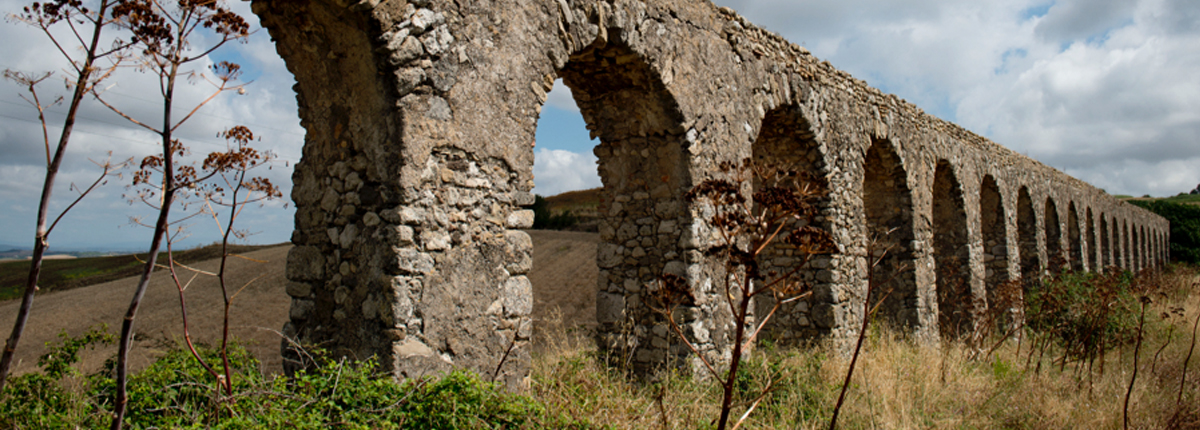 Vast archaeological site of Pompeii located in southern Italy's Campania region.
