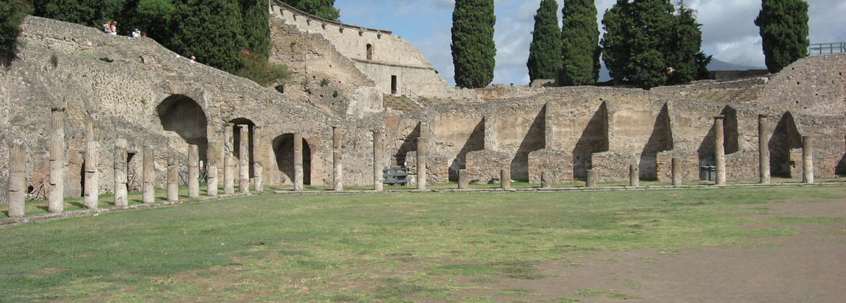 Academics for the Department of Classics: the Large Theatre at Pompeii