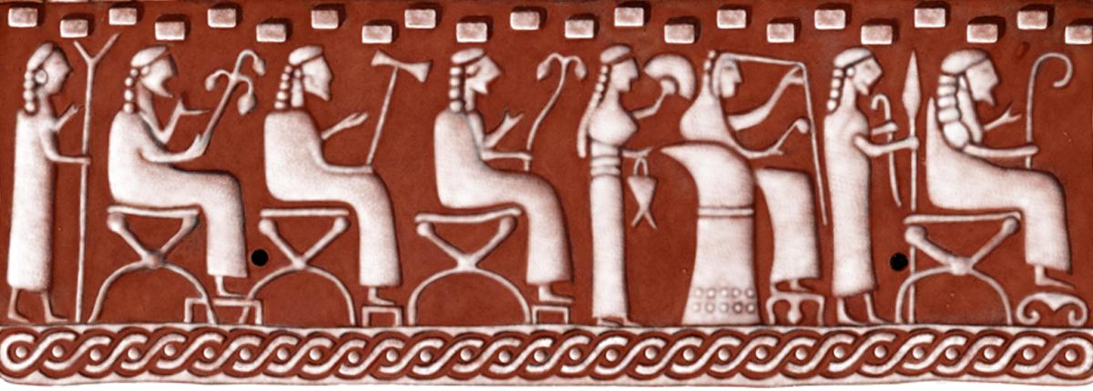 Panel of Roman art