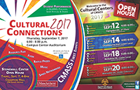 cultural connections fall 2017