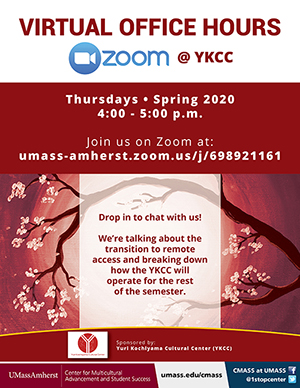 YKCC virtual office hours