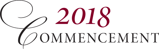 Watch the 2018 Commencement Live Stream