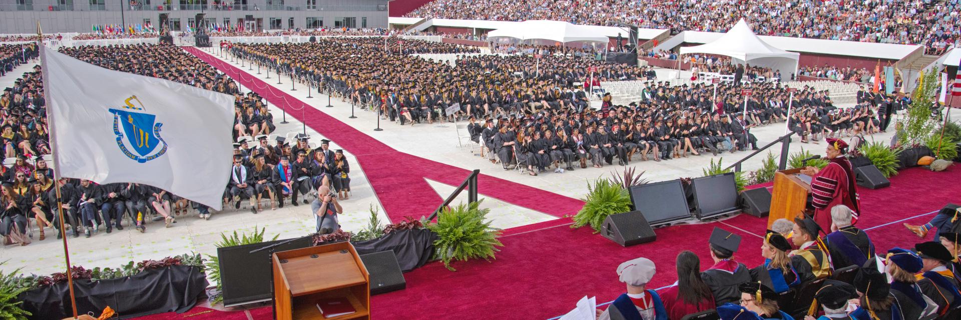 Undergraduate Commencement Ceremony 2018