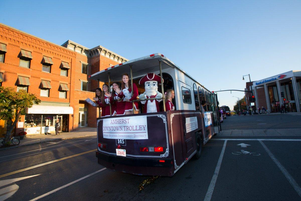 UMass-Downtown Trolley