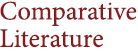 Comparative Literature | UMass Amherst