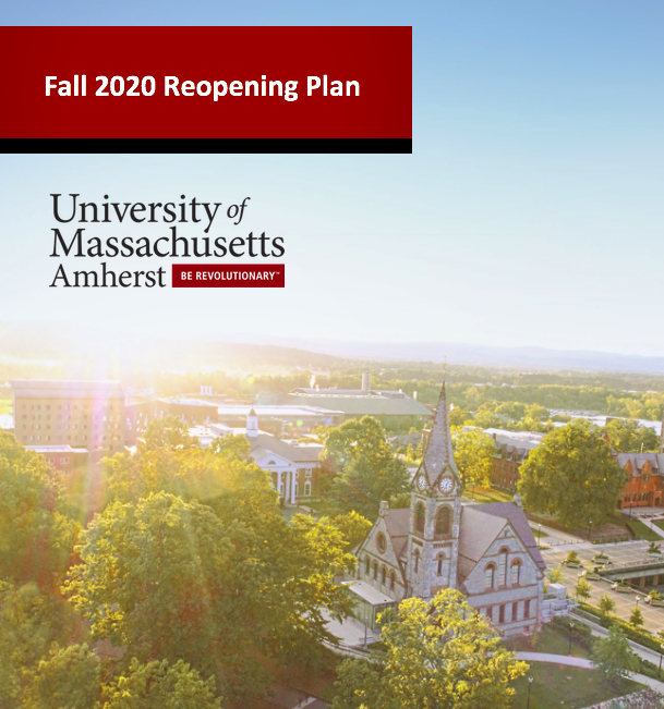 Fall 2020 reopening plan UMass