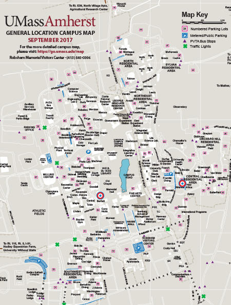 Campus Map Umass Rtlbreakfastclub