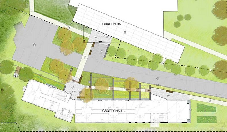 Site Plan - Courtesy of Miller Pollin Architecture